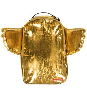 Sprayground King Midas Wings Feathers Urban School Book Bag Backpack 910B1528