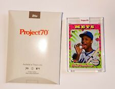 TOPPS PROJECT 70 DARRYL STRAWBERRY METS BY CLAW MONEY 1975 #269 NEW WITH BOX