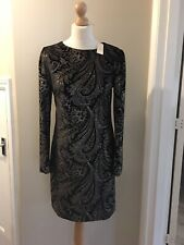 Ladies Next Black Sparkle/glitter Dress, Uk Size 14,brand New With Tag Rrp £48