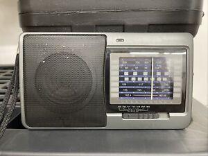 Radio Shack Portable Multiband Radio 12-756 AM/FM/TV/AIR/VHF/WX Tested Works
