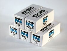 New Ilford FP4 Plus 120 (5 Pack) Fresh Stock