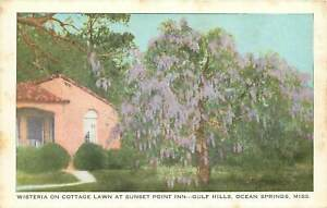 Mississippi, MS, Ocean Springs, Cottage Lawn, Sunset Point Inn, Gulf Hills PC
