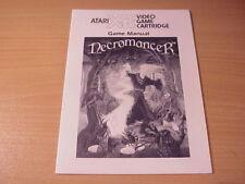 Atari XL/XE -NECROMANCER - Game Manual