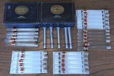 Bering Casinos Boxes & Empty Glass & Aluminum Handmade Cigar Tubes Box Lot