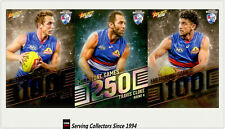AFL Trading Card MILESTONES SUBSET COMPLETE FULL TEAM SET-W.BULLDOGS-2012-2018