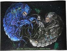 Tool signed concert poster rosemont 6/8 2017 allstate arena chicago maynard j.k.