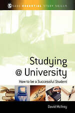 Studying at University: How to be a Successful Student by David McIlroy (Paperb…