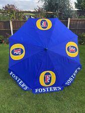 Fosters Lager Pub Beer Garden Umbrella ale Parasol Patio Furniture 674