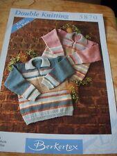 "14/ easy to knit Berkertex Knitting Patterns TUNIC 20""-30"" DK wool"