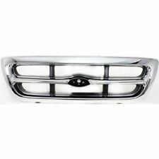 for 1998 1999 2000 Ford Ranger Front Grille 2WD, Chrome