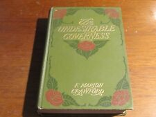 The Undesirable Governess - F. Marion Crawford 1910