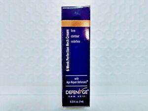Defenage 6-Week Neck Tightening Cream  NEW IN BOX TRAVEL SIZED 7ML
