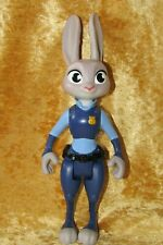 "Disney Zootropolis Zootopia ~ JUDY HOPPS ~ 9"" Rabbit Poseable Action Figure Tomy"