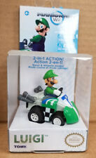 Tomy MARIO KART WII LUIGI PULL BACK RACER OFFICIALLY LICENSED