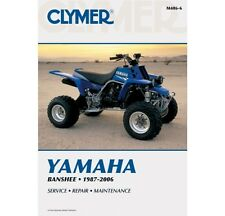 CLYMER Repair Service Manual Yamaha Banshee 350 1987-2006 M486-6