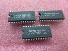 2 x Vintage SRAM M58725P M58725P-15 2K X 8  16K ORIGINAL MITSUBISHI