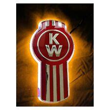 """Stealth """"Amber"""" Kenworth Logo backing- Emblem light"""
