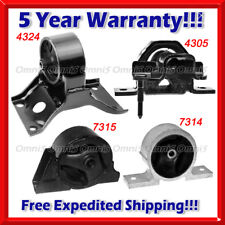 Engine Mount /& Auto Trans Mount Set 4PCS For 2004-2006 for SENTRA L4 1.8L