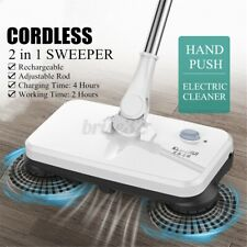 Cordless Rechargeable Electric Sweeper Broom Mop Household Floor Dust Cleaning