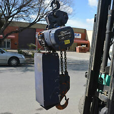 Anchor Kito ES 075S 7.5 Tonne chain hoist winch lift hoist motor 7500KG 8m drop