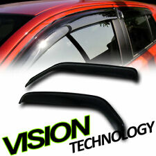 For 98-03 Dodge Ram Van Rain/Wind Guard Smoke Tint Shade Deflector Window Visors