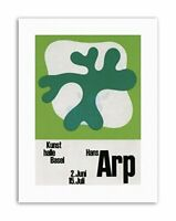 AD SWITZERLAND CULTURAL HANS ARP DADA SURREALISM Cultural Canvas art Prints