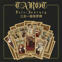 FGO Fate Grand Order Tarot Card Paper Set 80pcs Cosplay Prop Anime Accessories