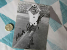 Willi GIESEMANN  West German WC 1962  Player ORIGINAL Hand Signed FOOTBALL Photo