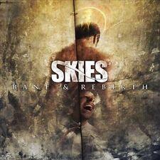 SKIES - Bane & Rebirth (CD, 2011, Bombworks) Christian Metal, NEW