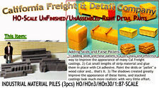INDUSTRIAL MATERIALS-STACKED (3pcs) HO/HOn3/HOn30-Scale Model Masterpieces