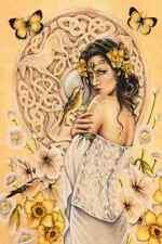 Rhiannon - Faery Art Card by Jessica Galbreth