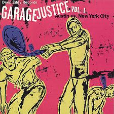 Garage Justice, Vol. 1 CD comp compilation garage punk rock & roll