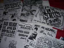 Punk Flyers Riverside Spanky's Cafe Mentors Offspring Misfits Germs Danzig
