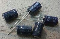 5 x NRSA Radial Electrolytic Capacitor 10uF 50v 63v