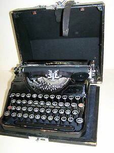 Great Old Typewriter Continental Top Decoration