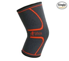 Ultra Flex Athletics LARGE Knee Compression Sleeve Support for Running