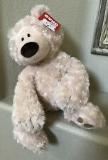 LARGE SUPER SOFT OFF WHITE GUND TEDDY BEAR NEW WITH TAGS