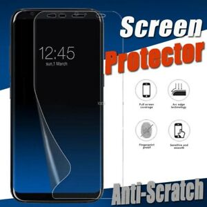 FULL SCREEN Face Curved TPU Screen Protector Cover for Samsung Galaxy S9 Plus