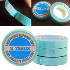 One Roll Strong Double-sided Adhesive Blue Tape for All Tape Hair Extensions New