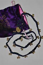Disney Couture Kidada Sleeping Beauty Themed Bracelet Wrap 14k Plated Gold Bow