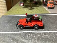 Custom Built 1/87 Scale Dodge Power Wagon Mini Brush Truck