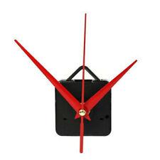 Red&Black Clock Quartz Movement Mechanism Hands DIY Kit Repair Wall Part Tool