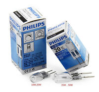 10pcs Philips 12v tungsten bulb50w low pressure crystal lamp bright halogen lamp