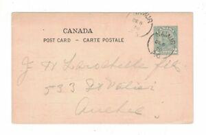 1930-12-06 #P48c CANCELED NAMUR & MONTEBELLO, SIGNED CHAS. L. CHARRON VIA QUEBEC