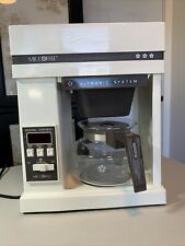 Vintage Mr. Coffee 10-Cup Ultronic System Coffeemaker Brewer Automatic Brewing