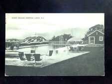 1940's? Swimming Pool Scene around Pompton Lakes NJ post card