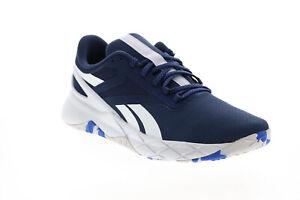 Reebok Nanoflex Tr GZ8297 Mens Blue Canvas Athletic Cross Training Shoes