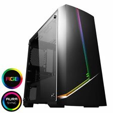 Intel Quad Core CS1001 RGB Gaming PC WIFI & 8GB 500GB HDD & W10 + 2GB Graphics