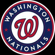 Washington Nationals Circle Logo Decal Sticker Magnets Car Bumper SPORT Magnet