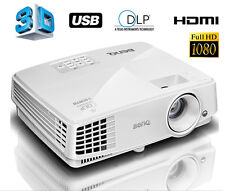BenQ MS527 3D DLP Projektor Beamer 13000:1 3300 ANSI Lumen HDMI VGA S-VIDEO USB